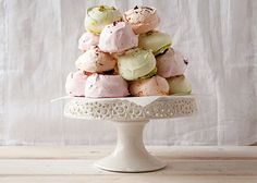 Meet Spring's Sweetest Treat: Pastel Meringues via Brit + Co.