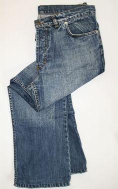 Vintage Diesel Jeans Denim  Fashion Style Designer Navy Blue Size  33W 29L