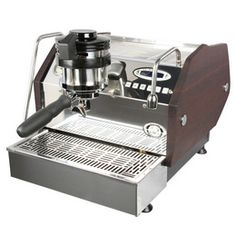 La Marzocco GS/3 Espresso Machine :: Paddle Version - Custom Woodwork