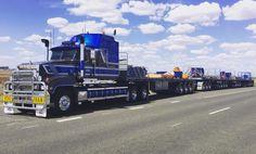 Red Dog Mack Trucks, Semi Trucks, Big Trucks, Train Truck, Road Train, Tonka Toys, Heavy Duty Trucks, Tractors, Transportation