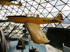 Ikarus Aero 2 (YU-CVB, YAF serial 0875) at the Belgrade Aeronautical Museum