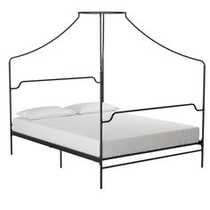 Camilla Metal Canopy Bed | The Novogratz | $250