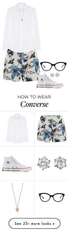 """Cloud Dancer."" by foreverforbiddenromancefashion on Polyvore featuring ONLY, Givenchy, Converse, Pamela Love, Prada and Juicy Couture"