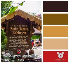 Disney Park Photography - Photo: Swiss Family Colors