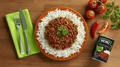 The curry. A firm mid-week meal favourite. How about adding that little extra something and become a kitchen hero with Heinz Creationz Lentil Curry.