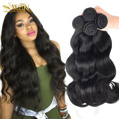 Mink Brazilian Virgin Hair Body Wave 3 Bundles Unprocessed Human Hair Extensions Annabelle Hair 7A Brazilian Hair Weave Bundles *** This is an AliExpress affiliate pin.  Details on product can be viewed on AliExpress website by clicking the image