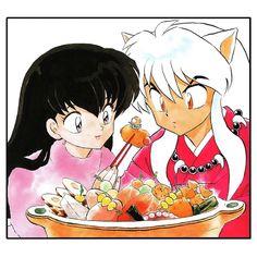 Inuyasha and Kagome Hotpot Framed Art Print by themeganechan Inuyasha, Otaku, Yume, Framed Art Prints, Canvas Prints, Good Advice For Life, Acrylic Box, Iphone Skins, Anime Art