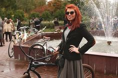 """An interesting event in Moscow """"Tweed ride Moscow"""""""