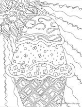 seasonal (and many other) coloring pages