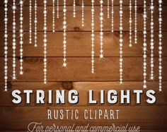Check Out String Lights Clip Art By Lunalexx On Creative Market