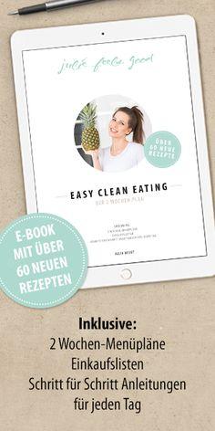 """Für mich ist es wichtig, Lebensmittel zu essen, die uns so glücklich und gesund machen, wie es nur geht. Glücklicherweise machen uns """"cleane"""" Lebensmittel gesund, und gesund bedeutet glücklich, ode…"""