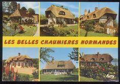 chaumières normandes