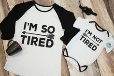 Tired/Not Tired Set:  take $20.00 off with code TIRED.  The perfect mommy and me set for new moms!