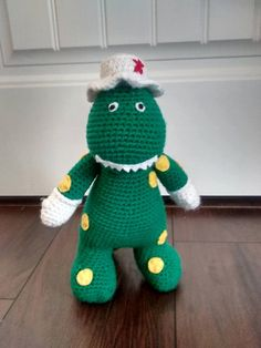 Dorothy Dinosaur Knitting Pattern : Fireman Sam crochet My crochet-schumianca Pinterest Firemen, Fireman sa...