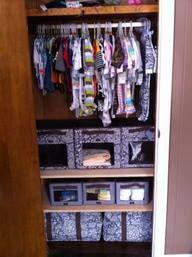 Thirty-one Baby Closet Organization