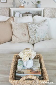 Farmhouse, country cottage style Creating a custom look without the high dollar price tag.