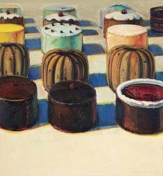 Wayne Thiebaud, Various Cakes