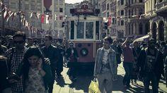 Taksim to Tünel tram in Istanbul