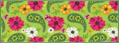 Bright Floral Pattern ~ FB Cover