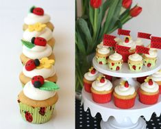 "I like ladybugs… in fact they're about the only bug I would ever call ""cute.""  And they are extra cute stylized and used in decor.  I like using simple fondant ladybugs as decorations on cupcakes in the spring and summer.  Although I do usually try to add a ladybug on just a portion of the cupcakes on …"
