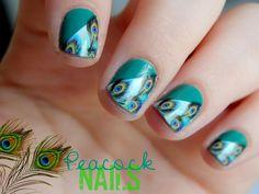 Violette dorée, blog nail art/beauté: Des plumes se posent sur mes ongles