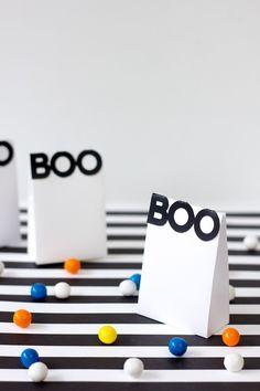 Boo! Printable Halloween Treat Bags