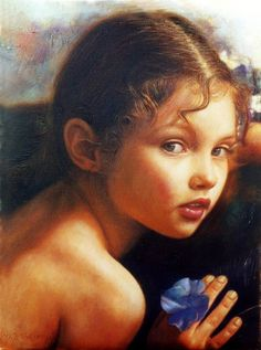 Oil Painting by Greek artist Odysseas Oikonomou Social Art, Painting Inspiration, Art History, Sculpture Art, All Art, Find Art, Art For Kids, Art Children, Artwork