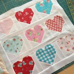 Posts you've liked | Websta (Webstagram) Cluck cluck sew heart pattern sewn by Clover and violet