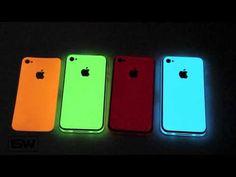 Glow in the dark iPhone body wraps. Love it!