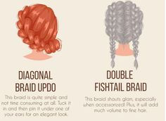 Trendy hair brades don't have to be hard!