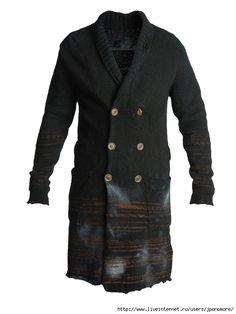Вдохновительное от кутюр - вязаные жакеты, куртки для мужчин. Обсуждение на  LiveInternet - Российский Сервис Онлайн-Дневников 363592b7f49