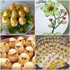 Image result for preparate de revelion Pineapple, Easter, Salad, Fruit, Deco, Food, Snacks, Pinecone, Meal