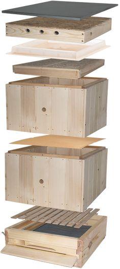 Tatran B10 - včelie úle | Božie úle Bee Hive Plans, Bee Keeping, Home Decor, Wood, Bees, Decoration Home, Room Decor, Home Interior Design, Home Decoration