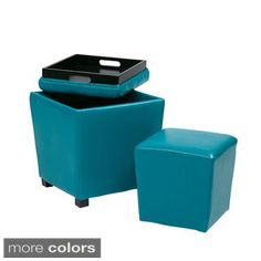 Shop for Metro 2-piece Vinyl Ottoman Set. Get free shipping at Overstock.com - Your Online Furniture Outlet Store! Get 5% in rewards with Club O!