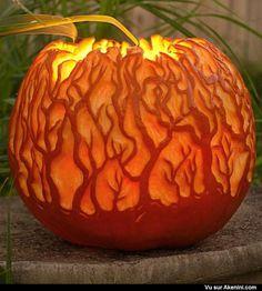 pumpkin carvings halloween pinterest - Decoration Citrouille Pour Halloween