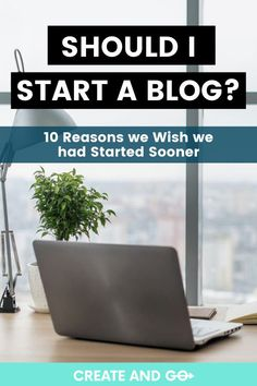 Starting a blog completely changed our lives! Our only regret is not starting sooner. We're here to tell you that if we can start a successful blog, you can, too! Here we outline ten reasons you should start your money making blog today. #createandgo #startablog #makemoneyblogging #sixfigureblogger Make Blog, How To Start A Blog, Make Money Blogging, How To Make Money, Becoming A Blogger, The Lives Of Others, Be Your Own Boss, Blogging For Beginners, Outline