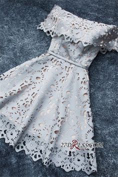 Lace Off-the-Shoulder Simple Short A-Line Homecoming Dress BA6832_2017 Homecoming Dresses_Special Occasion Dresses_High Quality Wedding Dresses, Prom Dresses, Evening Dresses, Bridesmaid Dresses, Homecoming Dress - 27DRESS.COM Occasion Dresses, dress, clothe, women's fashion, outfit inspiration, pretty clothes, shoes, bags and accessories #shortpromdresses