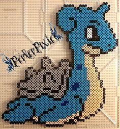Lapras by PerlerPixie on DeviantArt