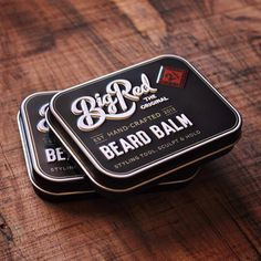 We take great pride in the products we produce here at Big Red and our packaging is no exception. We've been working hard on all new packaging designs for our entire range and this is a first sneak peek at what's in store. What do you all think? #bigredbeardcombs #beard #beardbalm #beardcare #beardcomb #pocketcomb #comb #tin #girlswholovebeards #gentlemen #mensfashion #facialhair #noshave #beardstildeath #beardstyle
