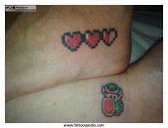 legend of zelda heart tattoo - Bing images