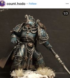 Warhammer Figures, Warhammer Art, Warhammer Models, Warhammer 40k Miniatures, Warhammer 40000, Hulk, Space Wolves, Mini Paintings, Space Marine