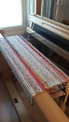 Floor Cloth, Rag Rugs, Bias Tape, Loom Weaving, Recycled Fabric, Woven Rug, Fiber Art, Needlework, Carpet