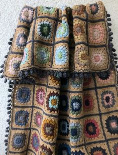Blanket. Wool blanket. Сrochet blanket. Crochet afghans. Granny Square Blanket, Afghan Blanket, Wool Blanket, Crochet Afghans, Crochet Blankets, Crochet Squares, Crochet Granny, Knit Crochet, Easy Crochet Hat