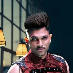 Allu arjun new hairstyle pictures