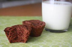 Les doigts collants: Bouchées de brownies au chocolat