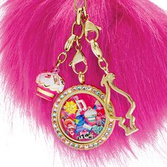 Mix and match the Trolls Biggie Charm with the other Trolls Character Charms in your favorite Living Locket® and sprinkle in the Rainbow-est of Rainbows Charm for an extra pop of color.