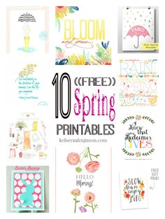Are you ready for Spring? Me too! Time to decorate our houses!