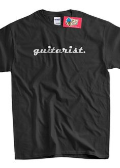 Guitar Band TShirt  Guitarist Tee Shirt T Shirt by IceCreamTees, $14.99