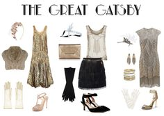Loving the beaded top and fringe skirt for a great gatsby 1920's theme party