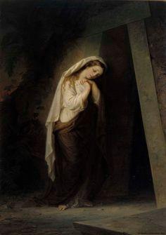 Ekman, Robert Wilhelm Maria Magdalena vid Kristi grav 1869 Art Gallery, Painting, Mary Magdalene, Museum, Art Museum, Painting Art, Paintings, Painted Canvas, Drawings